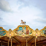 Carousel roof decoration Stock Photos