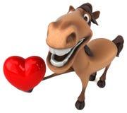 carousel rozochocony rozrywki fairground zabawy koń tradycyjny royalty ilustracja