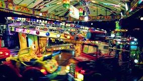 Carousel rozrywka w Oporto obraz royalty free