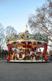 Carousel. Shot of a traditional carousel in an amusement park Stock Images