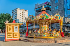 Carousel in Skopje Royalty Free Stock Photography