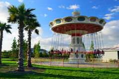 Carousel in Sochi Park. Krasnodar region. Russia Stock Image