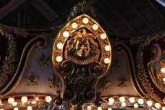 Carousel szczegół Zdjęcia Stock