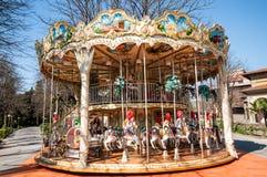 The carousel, a timeless fun stock photos