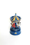 Carousel toy isolated on white. Carousel toy close up isolated on white Stock Images