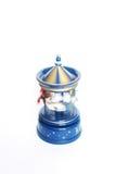 Carousel toy isolated on white Royalty Free Stock Photos