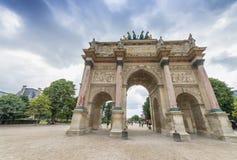 Carousel Triumph Arc in Paris, France.  Stock Photos