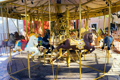 Carousel in Valladolid, Mexico Royalty Free Stock Images