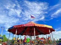 carousel obrazy royalty free