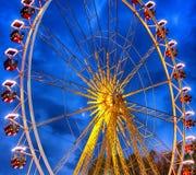 Carousel w wieczór Zdjęcie Stock