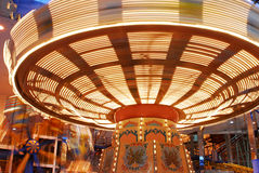 Carousel in west edmonton mall Royalty Free Stock Images