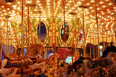 Carousel in west edmonton mall Royalty Free Stock Photos