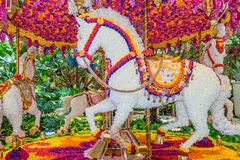 Carousel at the Wynn Hotel and Casino lobby Stock Photos
