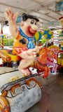 Carousel z Fred Flintstone Zdjęcia Royalty Free