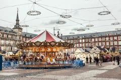 Carousell για τα παιδιά Στοκ Εικόνα