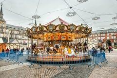 Carousell για τα παιδιά Στοκ εικόνες με δικαίωμα ελεύθερης χρήσης