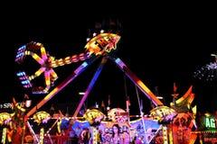Carousell at Oktoberfest Stock Photos