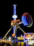 Carousell at Oktoberfest Royalty Free Stock Images