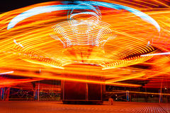 Carousels at night Royalty Free Stock Photography