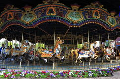 Carousels Stock Photography