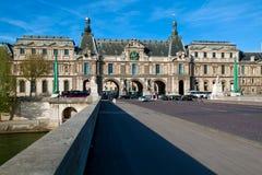 caroussel Du Louvre pont widok zdjęcia stock