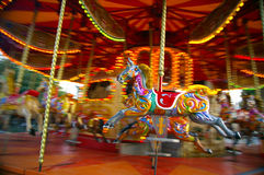 Caroussel Pferd Lizenzfreies Stockfoto