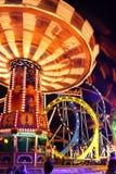 Caroussel ride at the Oktoberfest Stock Photos