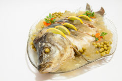 Carp in aspic Royalty Free Stock Photo