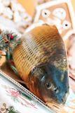 Carp and Christmas Royalty Free Stock Photo