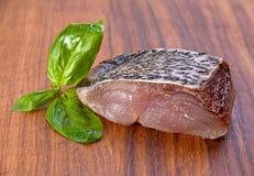 Carp fillet slice Royalty Free Stock Image