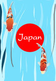 Carp fish Japan Symbolic Stock Photography