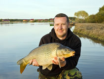 carp fishing Royalty Free Stock Photography