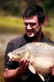 Carp fishing Stock Images