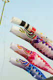 Carp streamers Royalty Free Stock Photos