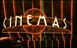 Carpa del cine Imágenes de archivo libres de regalías