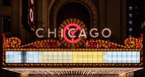 Carpa del espacio en blanco de Chicago imagen de archivo