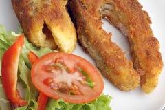 Carpa fritada Imagem de Stock