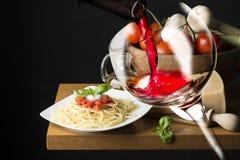 carpaccio烹调非常好的食物意大利生活方式豪华 图库摄影