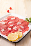 Carpaccio Royalty Free Stock Photography