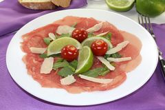 Carpaccio Royalty Free Stock Photos