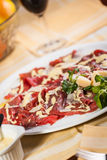 Carpaccio Obraz Stock
