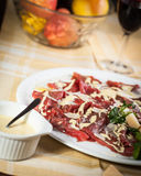 Carpaccio Photographie stock