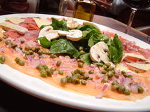 Carpaccio Stockfoto