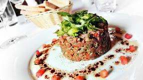 Carpaccio appetizer. Royalty Free Stock Photos