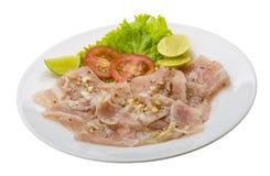 Carpaccio del pesce spada Fotografia Stock