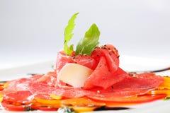 Carpaccio dish Royalty Free Stock Photos