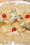 Carpaccio do abacaxi Foto de Stock Royalty Free