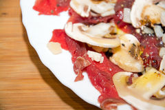 Carpaccio Royalty Free Stock Images
