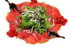 Carpaccio, Italian cuisine Royalty Free Stock Images
