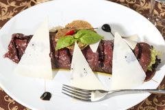 Carpaccio Royalty Free Stock Photo